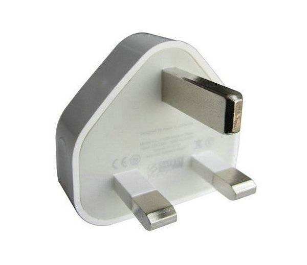 Original iphone 5W Uk USB power adapter for iphone 5 6