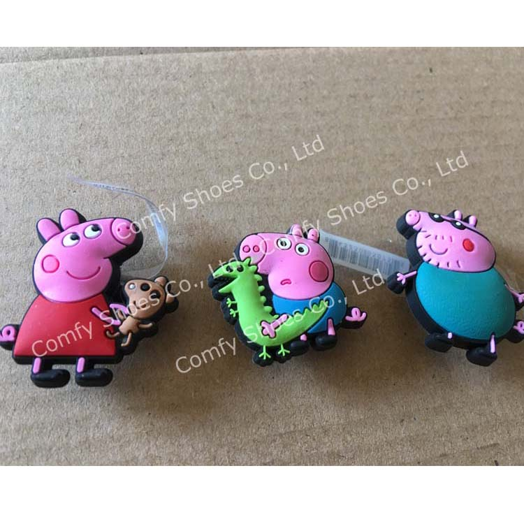 Clogs Shoes Charms Jibbitz Peppa Pig George