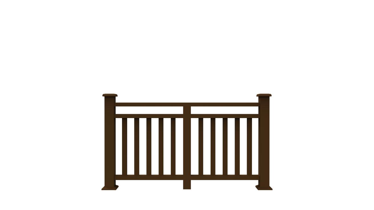 wpc railing/ wpc fence/ wood plastic composite