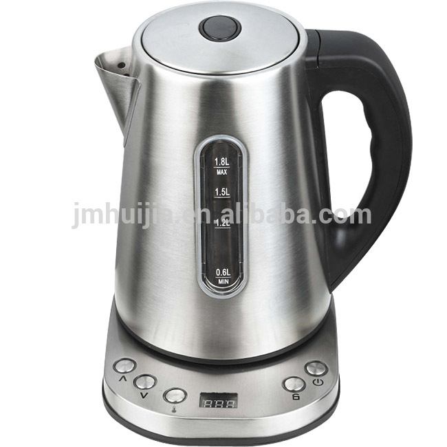 Water stainless steel digital electric kettle