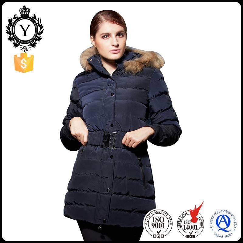 2016 COUTUDI New Arrival Winter Warm Fancy Down Parka Women Sale Comfy Fur Long Coat