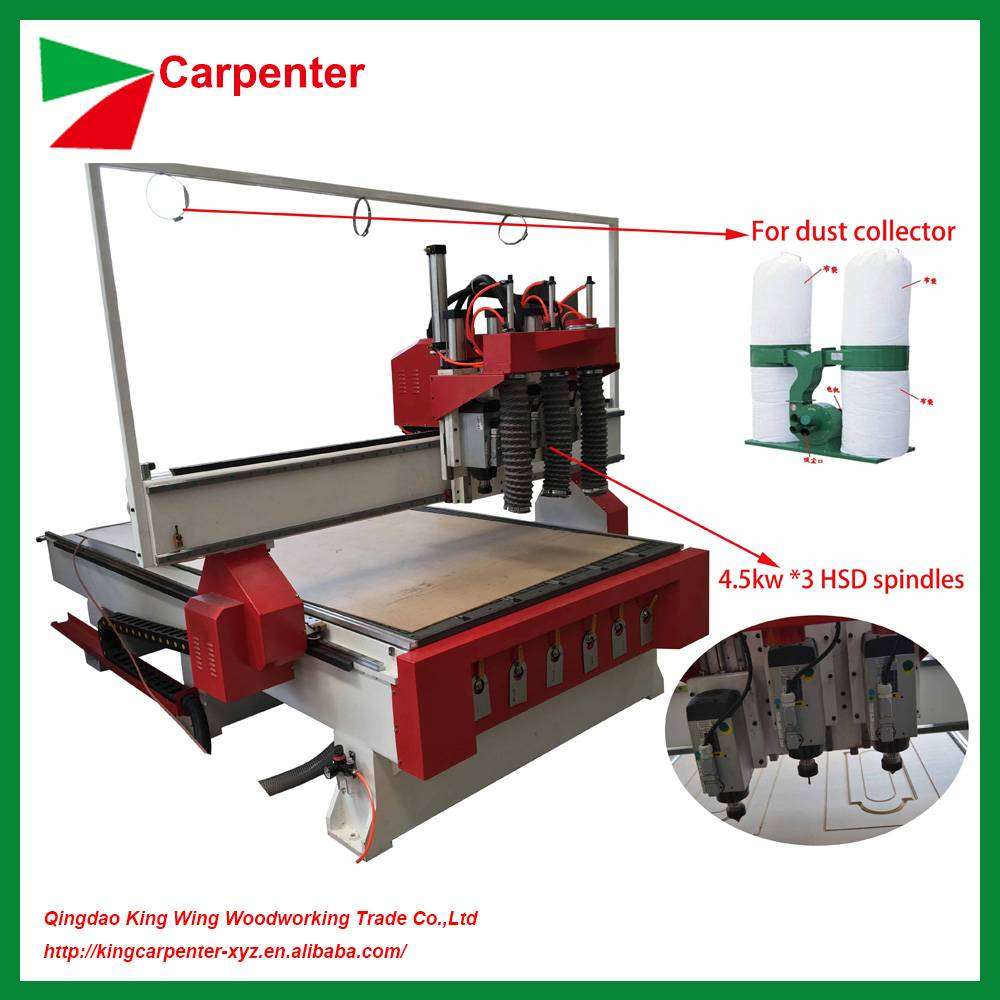 Wood cnc router machine for wood cutting engraving