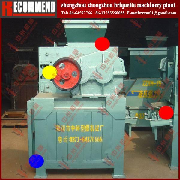 Clay briquetting machine