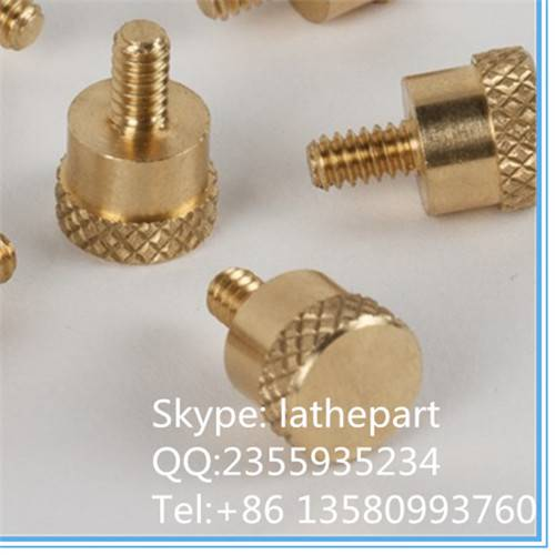 China Factory brass stamping screw