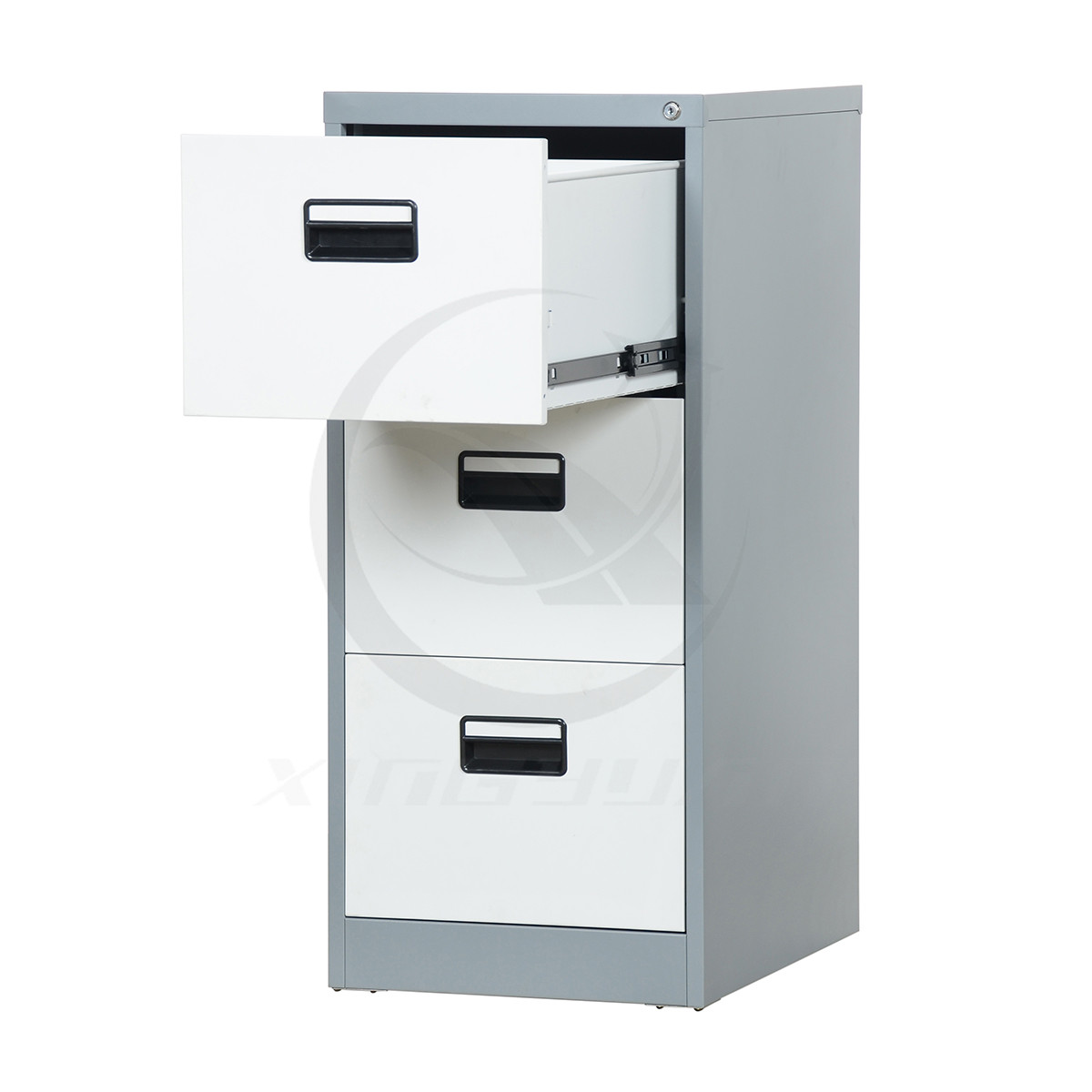 Office furniture detachable 3 drawer filing cabinet storage cabinet
