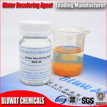 High - Efficiency Color Removal Chemical , Dyeing Waste Water Treatment Chemicals