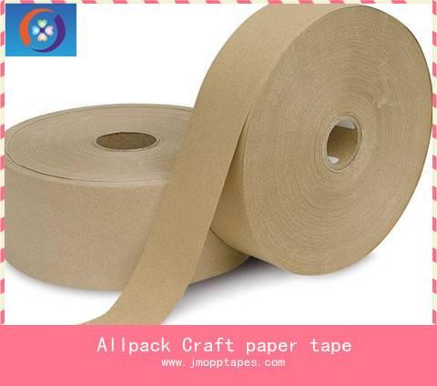 kraft paper tape,kraft tape,self adhesive kraft paper tape