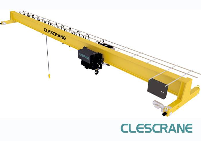 CHS Series 10ton Remote Control Electric Single Girder Overhead Bridge Crane for Sale
