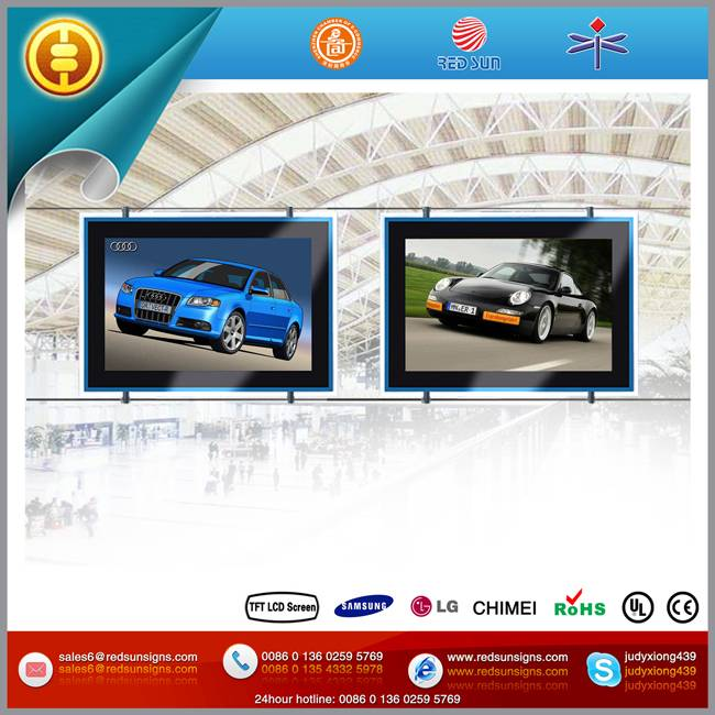 22 inch LCD Display + Light Box for poster (Double Face)