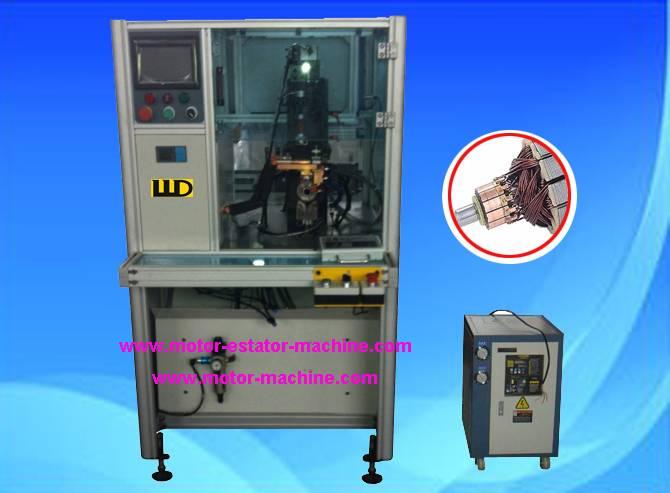 MIYAJI DC converter armature commutator hotstacking machine