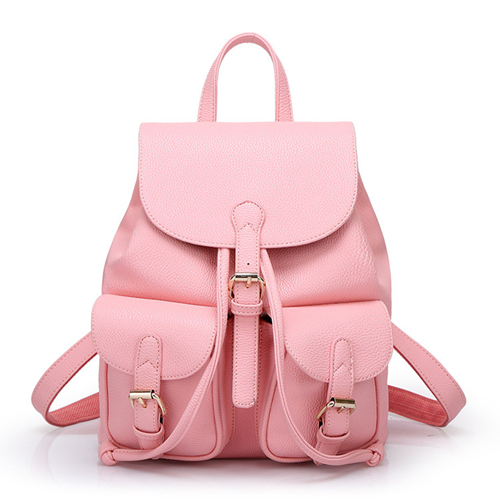 Leather Backpack PF6038
