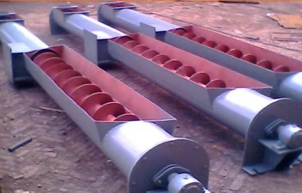 helical screw conveyor