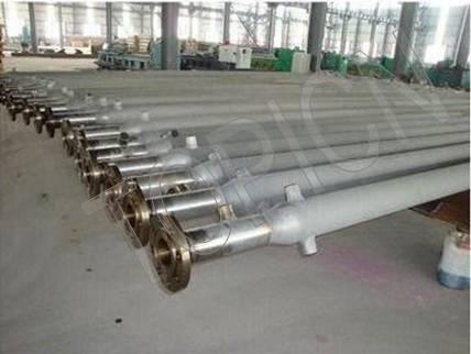 Centrifugal casting furnace tube