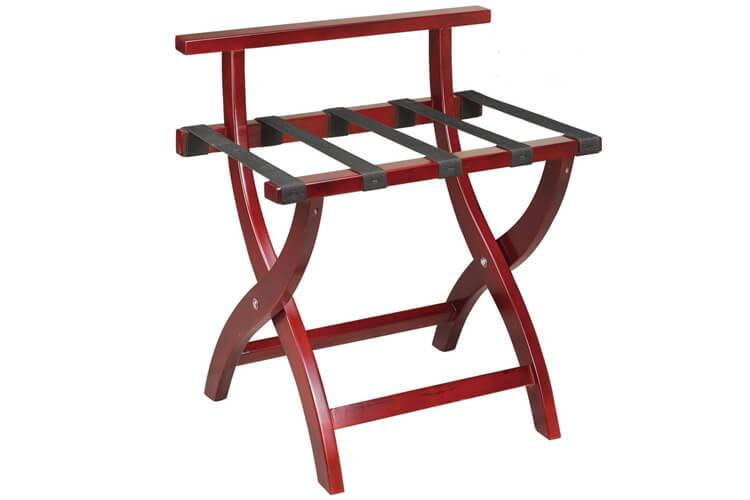 Wooden Hotel Luggage Rack
