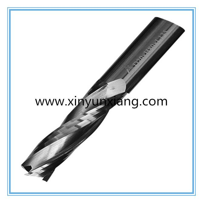 Solid Carbide Spiral Finishing Milling Cutter for Wood