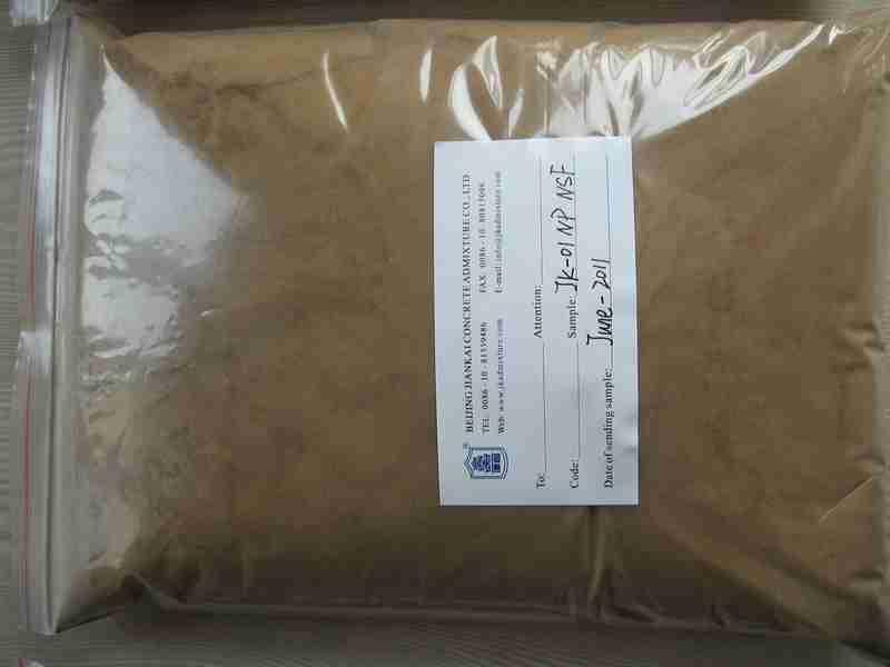 JK-01 NP Sodium Naphthalene Sulphonate Formaldehyde(Na2SO4 less 5%)