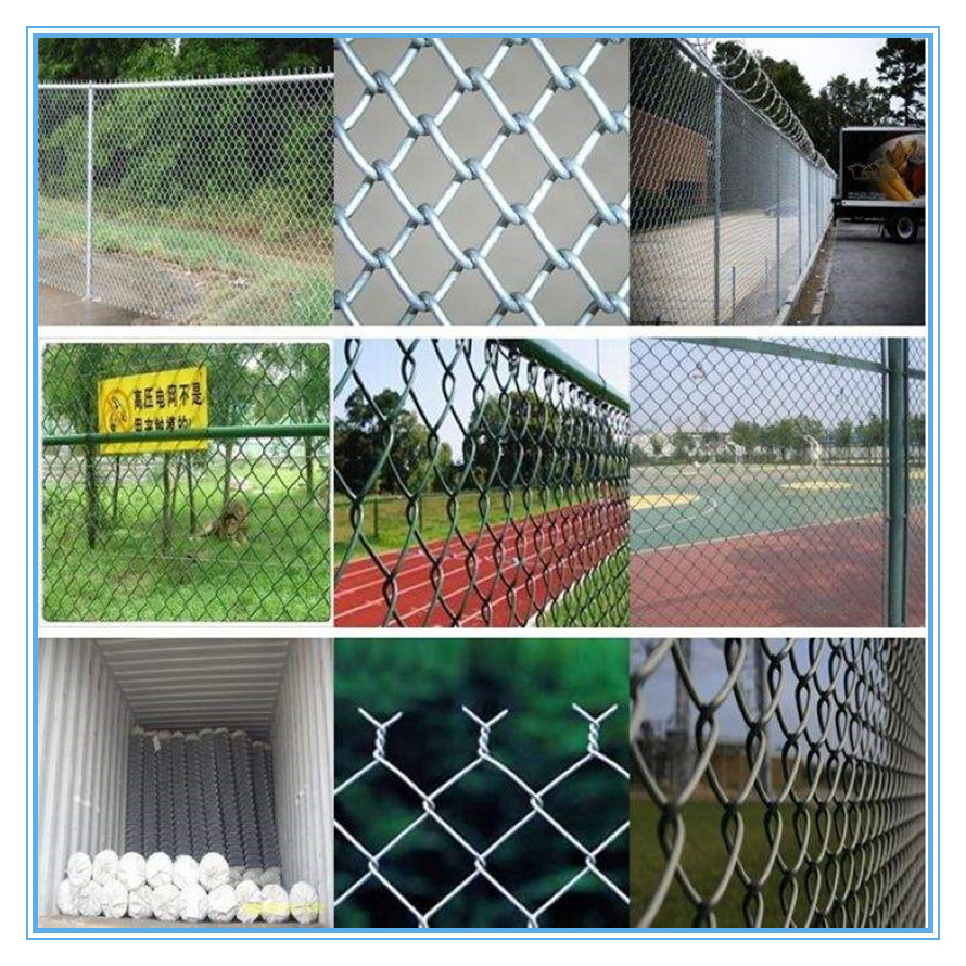 Anping Cheap price Garden chain link fence