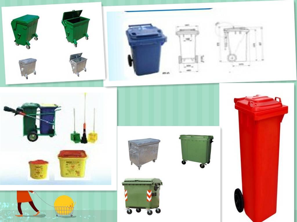 waste bin ROTOMOLD CAST MOLD