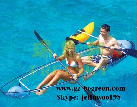 china factory price transparency kayak