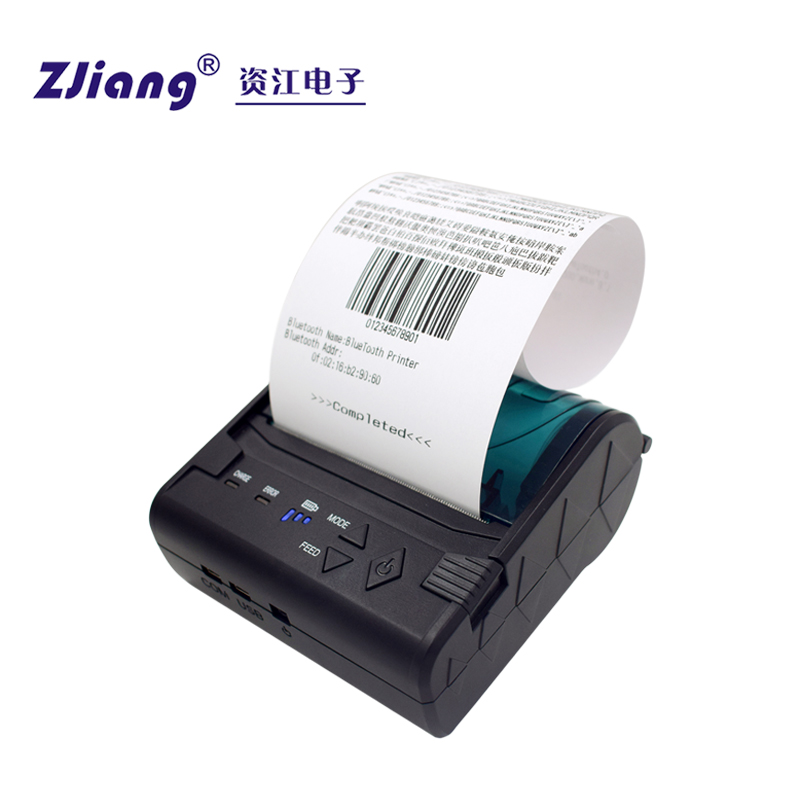 bluetooth Hookup Handheld Wireless Mini Portable Pos Printer POS-8003