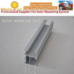 China Aluminum Rail for Solar Panel Mounting