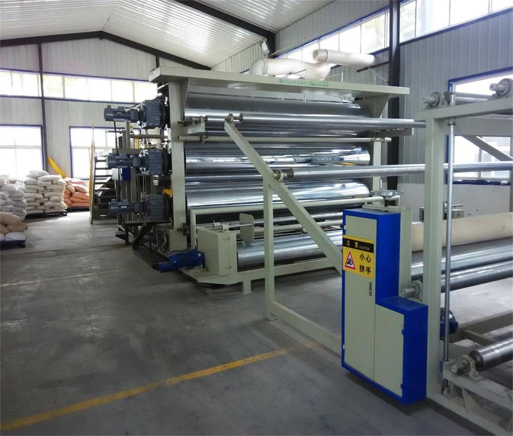 Full set automation polyurethane waterproofing paint machinery