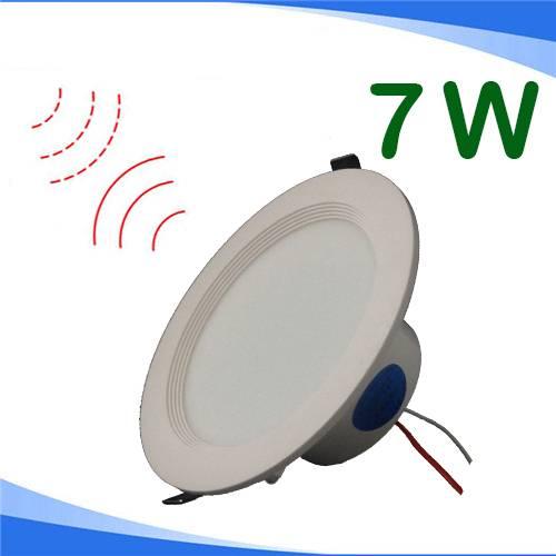 7W Motion Sensor LED Down Light