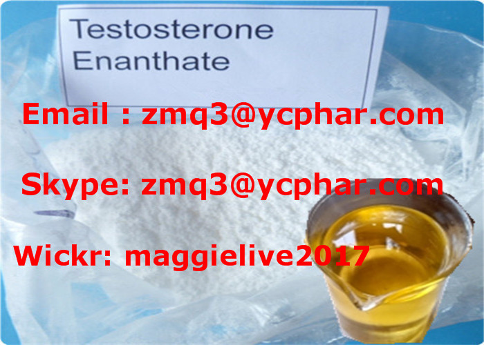 Injection / Oral Body Building Test Enan Powder with Safe Shipping