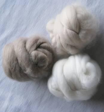 wool fiber/ cashmere fiber