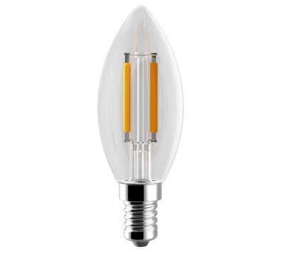 C35 5w 6w Led Candle bulb filament light CE & ROHS Philips and Osram