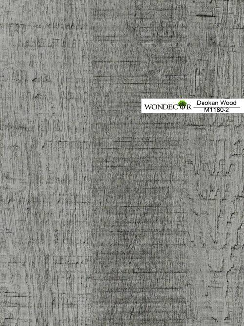 Wood Grain Melamine Decorative Paper for furniture