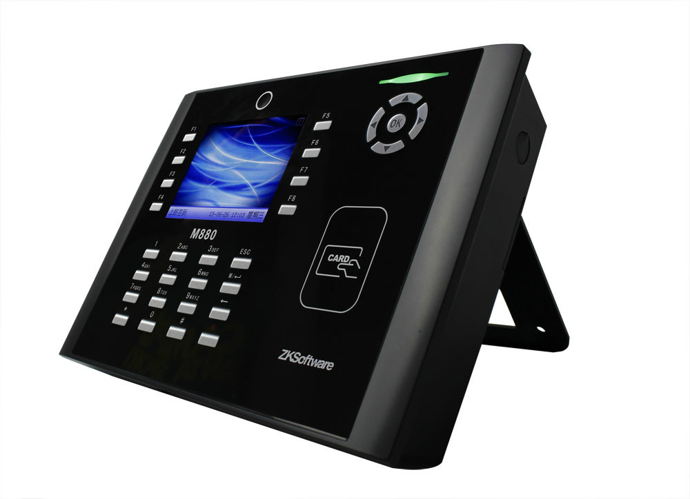 Multimedia Proximity Time Attendance And Access Control Terminal RFID Time Clock Machine M880