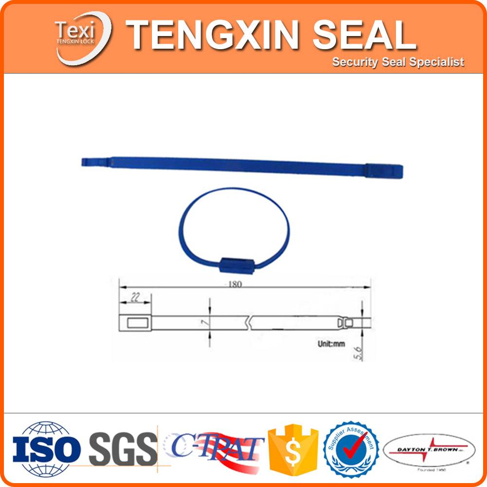 custom bag seal tie plastic sealing strip