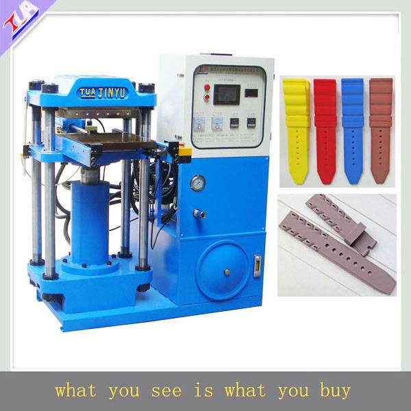 2015 Multi-functional silicone watchband making machine