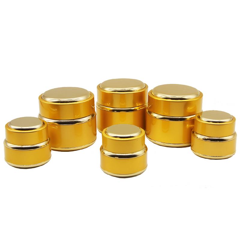 5g 30g 100g gold cosmetic aluminum jar