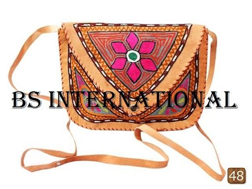 Rajasthani Ladies Bag Yelow color
