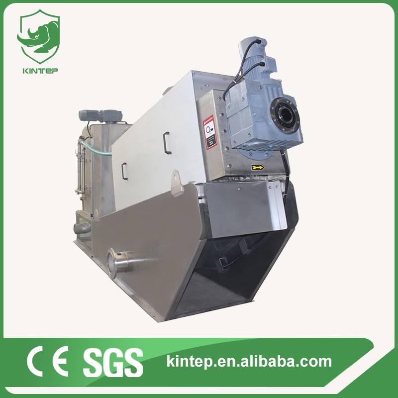 volute sludge dewatering machine