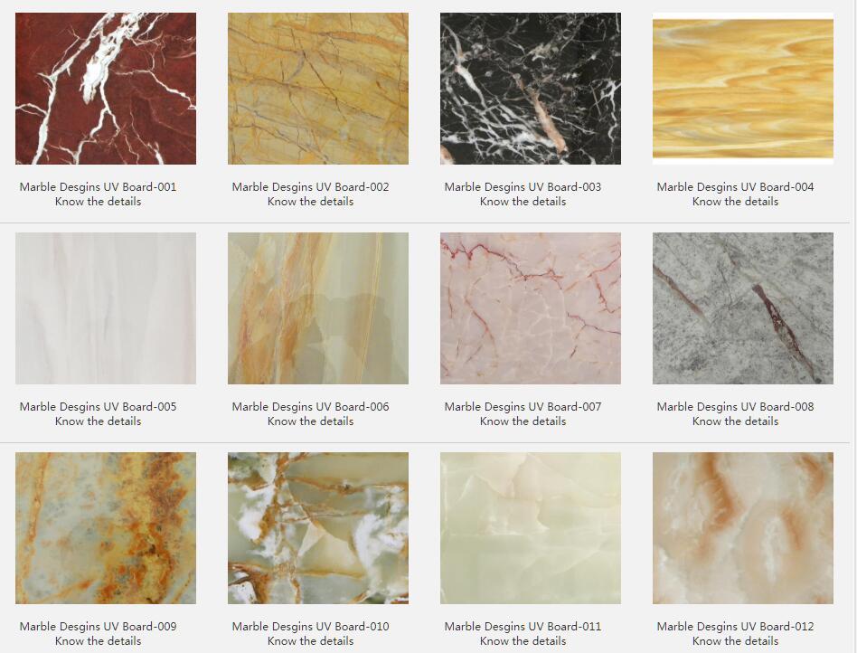 Marble Desgins UV Board
