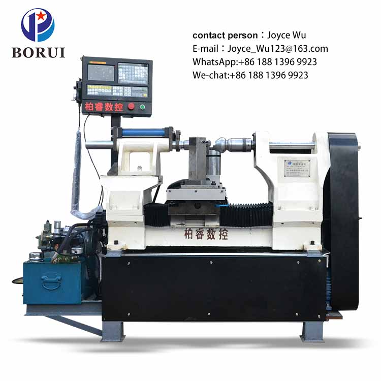 used CNC automatic no Manual metal spinning lathe machine for sale