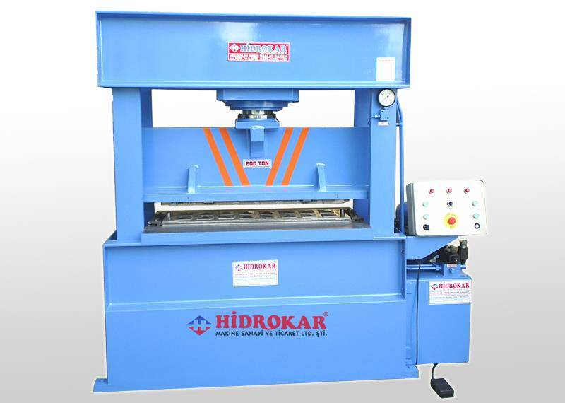 hydraulic sheet metal forming press