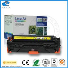 Compatible Ce412A Toner Cartridge for HP Laserjet PRO 400 Color M451dn/M451dw/451nw/Mfp M475dw/M475d