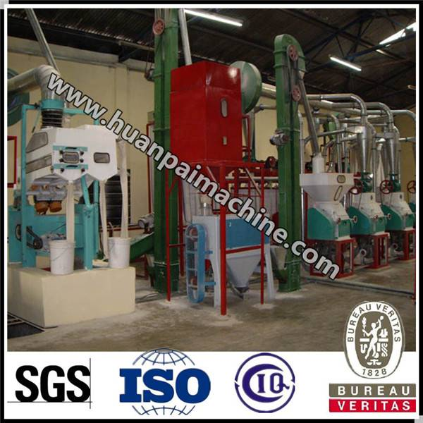 2016 Hot sale maize flour mill project with good quality with price