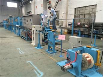 Fuchuan® FC-35 High temperature extruder line with high performance