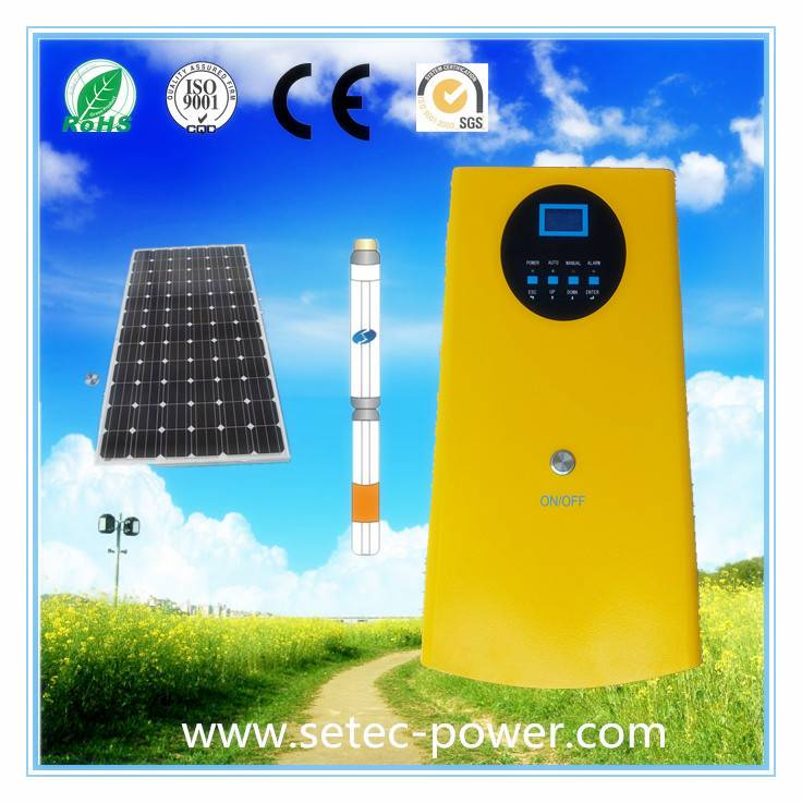 5.5KW Solar Pumping Power Inverter with MMPT Three(3) Phase
