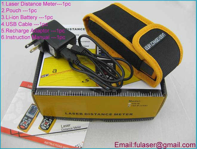 100M Digital Laser Distance Meter (LDM 100U)
