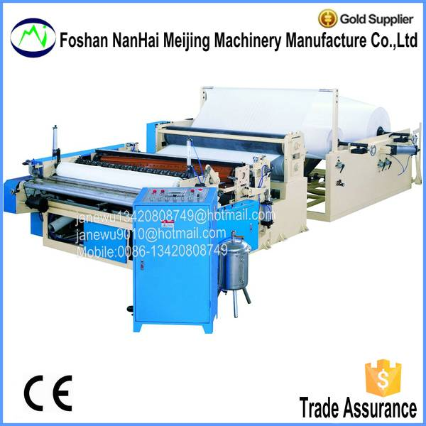 Full Automatic Jumbo Roll Slitting Rewinding Machine