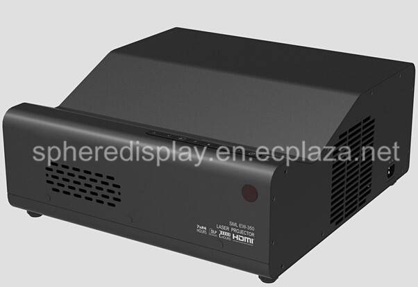 Multimedia Laser UST DLP Projector with 3000 Lumens brightness in Education support