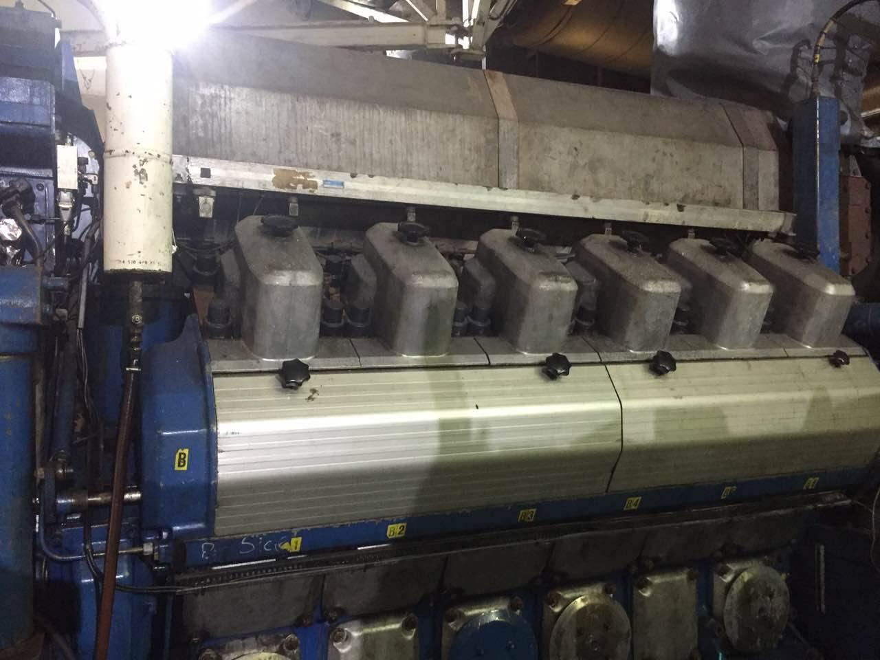 Wartsila 12V200 engine diesel and generator