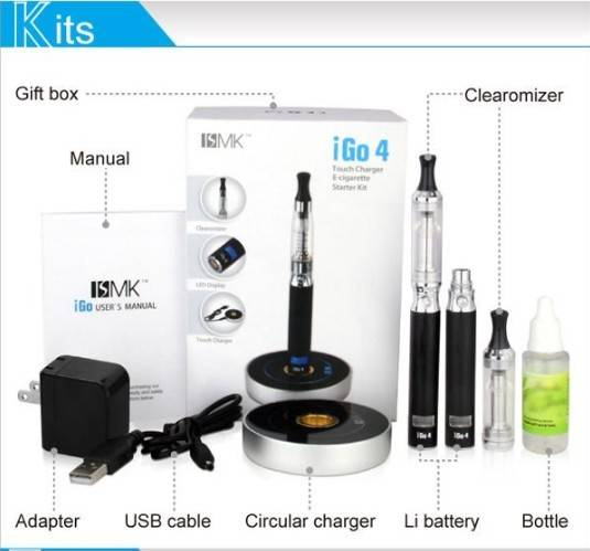 2013 newest electronic cigarette igo4