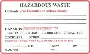 Container Labels
